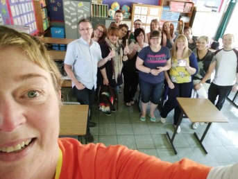 The fabulous workshop selfie!