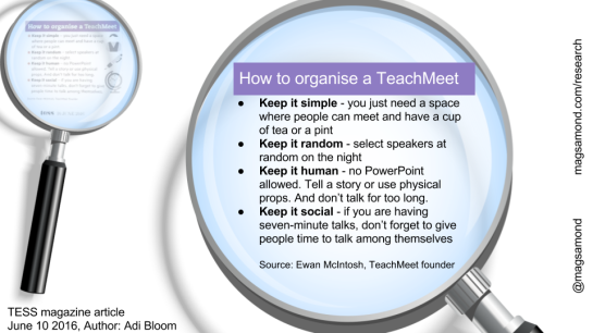 TeachMeet4pillars