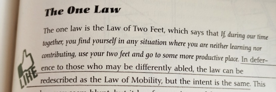 The One Law - The Law Of Mobility